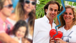 Josep Santacana y Arantxa Sánchez Vicario en un fotomontaje de LOOK
