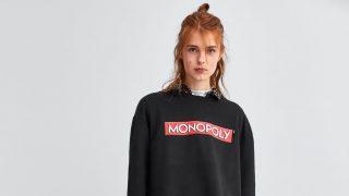 Sudadera de Monopoly de Zara (22,95 €) / Zara
