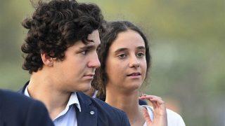 Froilán y Victoria Federica, en una imagen de archivo / Gtres.