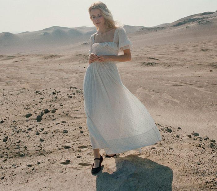 Doen vestido blanco