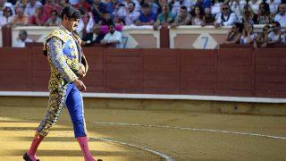 Jesulín de Ubrique durante su corrida de este domingo /Gtres