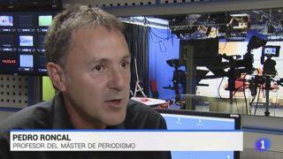 Pedro Roncal, durante un reportaje de TVE / Gtres.