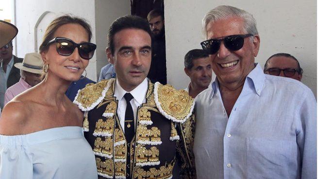 EN IMÁGENES | Isabel Preysler y Mario Vargas Llosa disfrutan en pareja de una jornada taurina