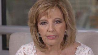 María Teresa Campos confiesa las secuelas que le ha dejado el ictus/ Mediaset