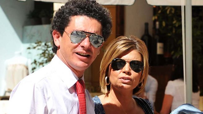Terelu Campos y Salvador Pérez