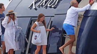 Alberto Palatchi y Zita Serrano-Suñer pillados durante sus vacaciones en Ibiza/ Gtres