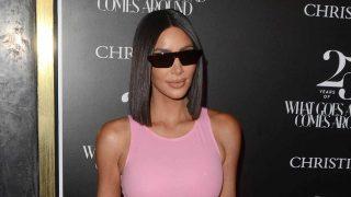 La socialité Kim Kardashian en una fiesta de Los Ángeles. / Gtres