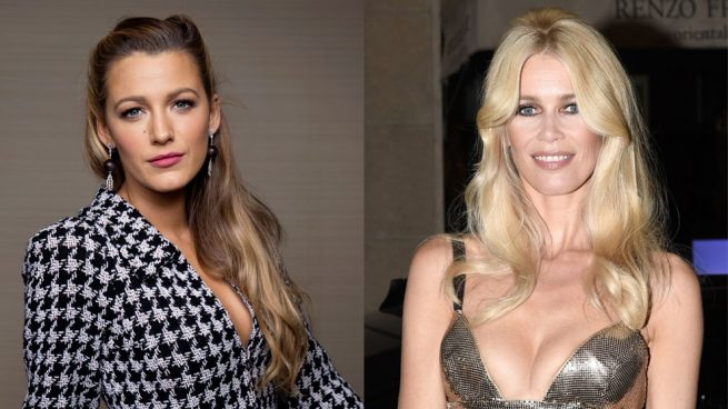 Blake Lively y Claudia Schiffer