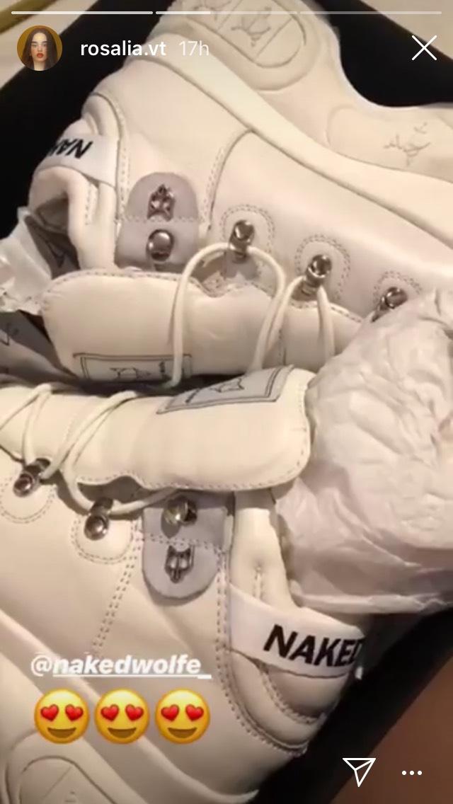 Zapatillas de Rosalía