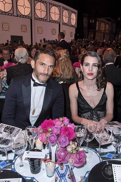 Sebastien Jondeau y Carlota Casiraghi