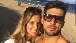 Cristian Toro y su chica, Susana Salmerón, disfrutando en vacaciones /Instagram