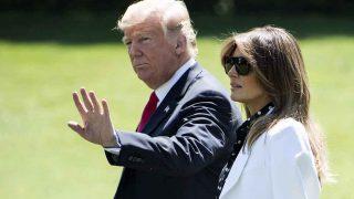 Melania y Donald Trump en una imagen de archivo /Gtres