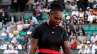 Serena Williams en su primer partido de tenis tras convertirse en madre / Gtres