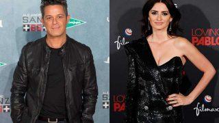 El cantante Alejandro Sanz y la actriz Penélope Cruz. / Gtres