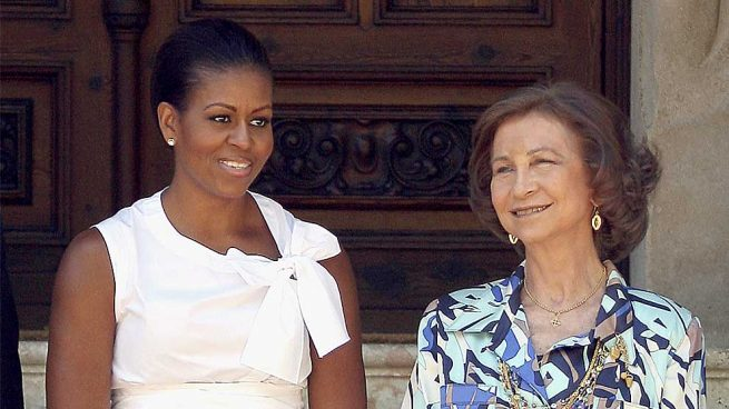 Michelle Obama Reina Sofía