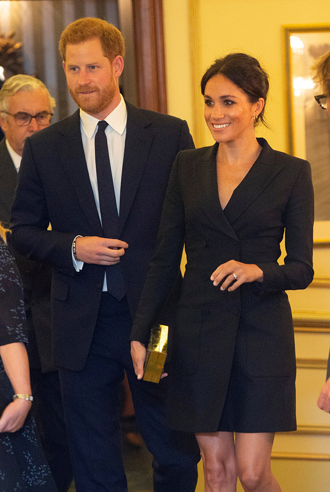 vestido blazer meghan markle letizia