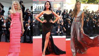 Galería: Las mejor vestidas de la ceremonia de apertura del Festival de Venecia