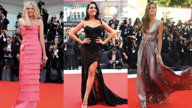Georgina Rodriguez alfombra roja mostra venecia