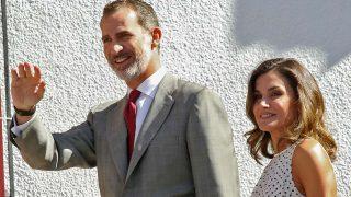 Los reyes Felipe y Letizia en una imagen de archivo / Gtres