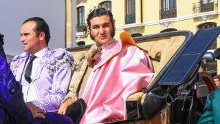 El traje de Morante de la Puebla ha sido diseñado por Vicky Martín Berrocal /Gtres