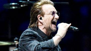 Bono, durante un concierto / Gtres.