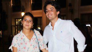 Cayetana Rivera junto a su novio tras la Goyesca /Gtres