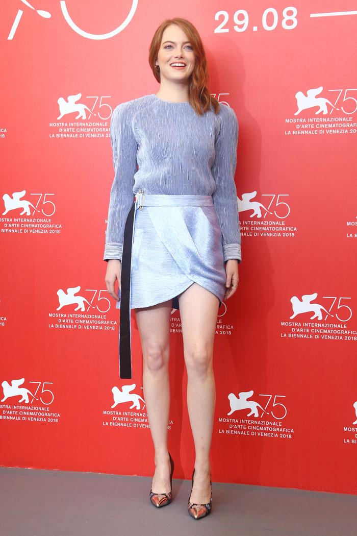 Emma Stone en el Festival de Venecia / Gtres
