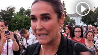 Vicky Martín Berrocal, emocionada tras la corrida Goyesca / Gtres