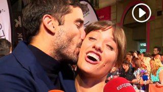 Michelle Jenner y Álex García, 'pullitas' y besos en la apertura del FesTVal / Gtres