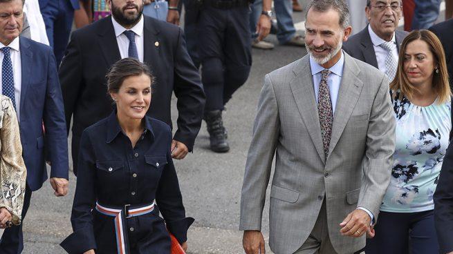 Doña Letizia 'vuelve al cole' más vaquera que nunca