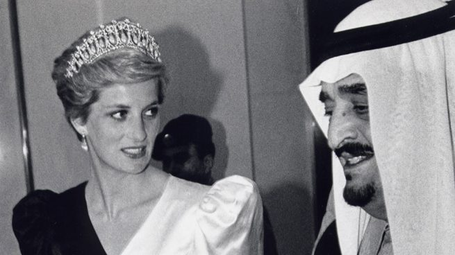 Diana de Gales durante su visita al Golfo / Gtre