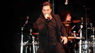 David Bustamante, durante su concierto en Alcorcón / Gtres
