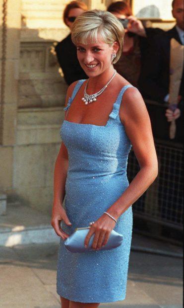 Diana en una visita al ballet / Gtres