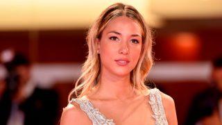 Alice Campello luce figura en el Festival de Venecia con un vestido de novia / Gtres
