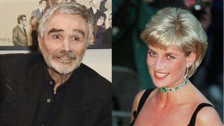 Diana de Gales y Burt Reynolds / Gtres