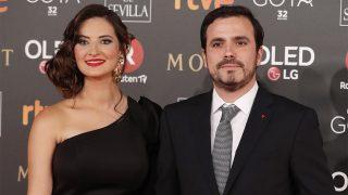 Anna Ruiz y Alberto Garzón, en una imagen de archivo / Gtres.