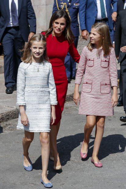 Los looks de las niñas podrían ser también de Carolina Herrera / Gtres
