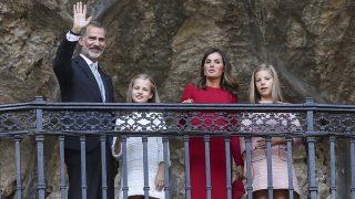 Disfruta de todas las imágenes de la llegada a Covadonga de la Familia Real / Gtres.