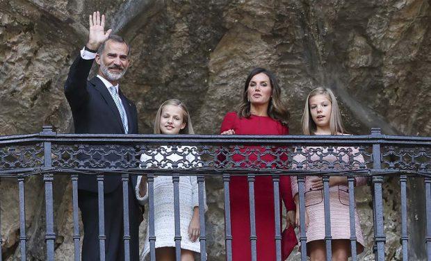 Leonor 'La deseada': La Princesa llega a Covadonga entre vítores para confirmarse como heredera de la Corona