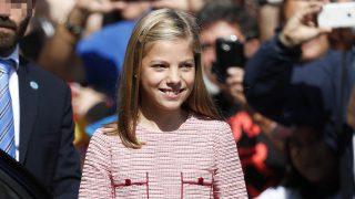 La Infanta Sofía a su llegada a Covadonga / Gtres