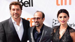 Penélope Cruz, Javier Bardem y  Asghar Farhadi de gira con su nueva película ' Todos lo saben' / Gtres