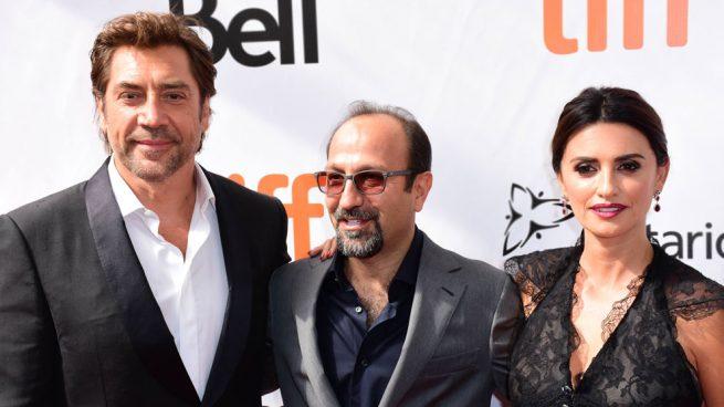 Penélope Cruz, Javier Bardem y Asghar Farhadi de gira con su nueva película ' Todos lo saben'