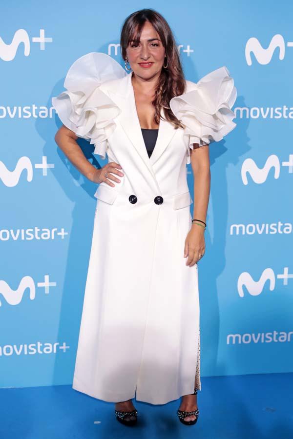 La actriz Candela Peña en la fiesta de Movistar Plus 2018