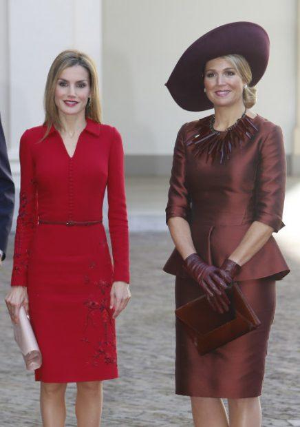 Letizia y Máxima en una imagen de archivo / Gtres