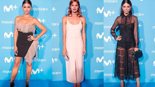 Los looks de las 'celebs' de la fiesta de Movistar Plus