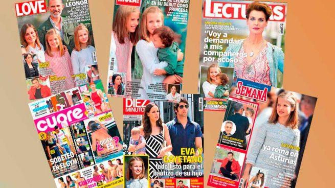 Portadas de las revistas del 12 de septiembre de 2018, Leonor, Bustamante