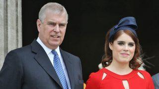 El príncipe Andrés y Eugenia de York / Gtres