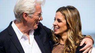 Richard Gere y Alejandra Silva en una imagen de archivo / Gtres