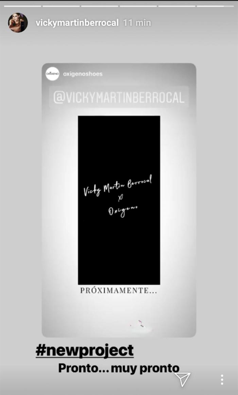 Vicky Martín Berrocal Oxigeno Shoes Instagram