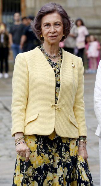 El esperado retorno de la reina Sofía